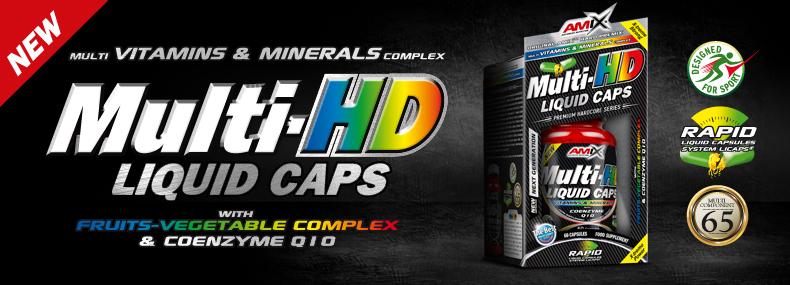 amix multi hd liquid caps witaminy w płynie
