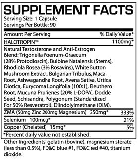 prosupps halo tropin skład i efekty