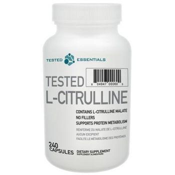 TESTED NUTRITION L-Citrulline 240 kap.