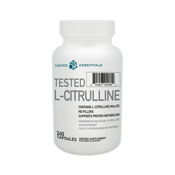 TESTED NUTRITION L-Citrulline 240 kap.