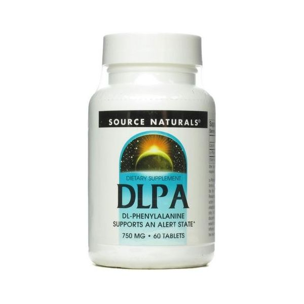 SOURCE NATURALS DLPA DL-Phenylalanine 60 tab.