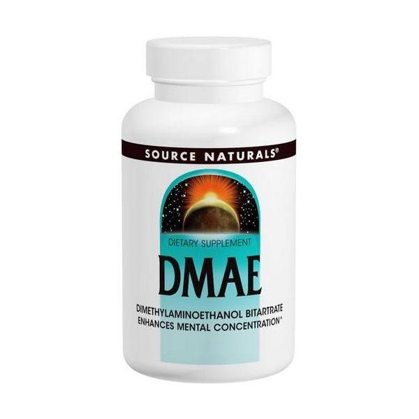 SOURCE NATURALS DMAE 100 tab.