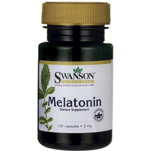 SWANSON Melatonina 120 kap.
