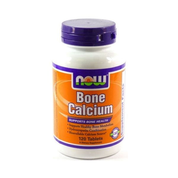 NOW FOODS Bone Calcium 120 tab.
