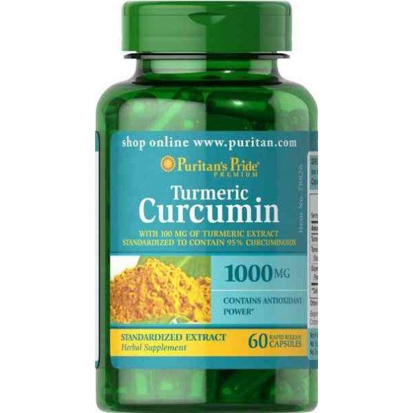 Turmeric Curcumin 60 kap.
