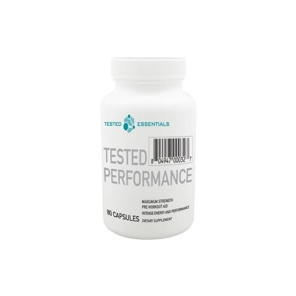 TESTED NUTRITION Performance 80 kap.