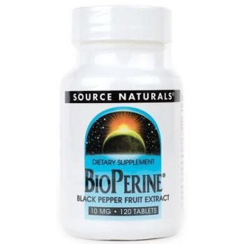 SOURCE NATURALS Bioperine 120 tab.