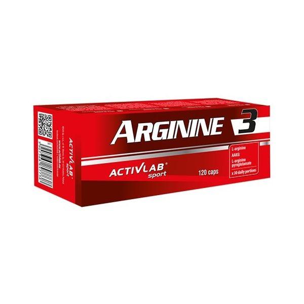 ACTIVLAB Arginine 3 120 kap.