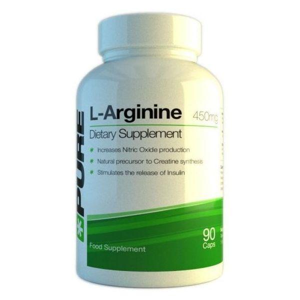 PURE L-Arginine 90 kap.