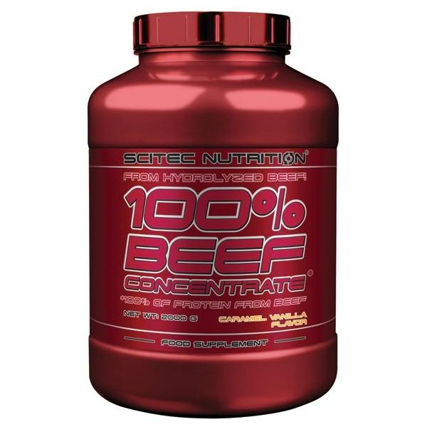 SCITEC 100% Beef Concentrate 2000g