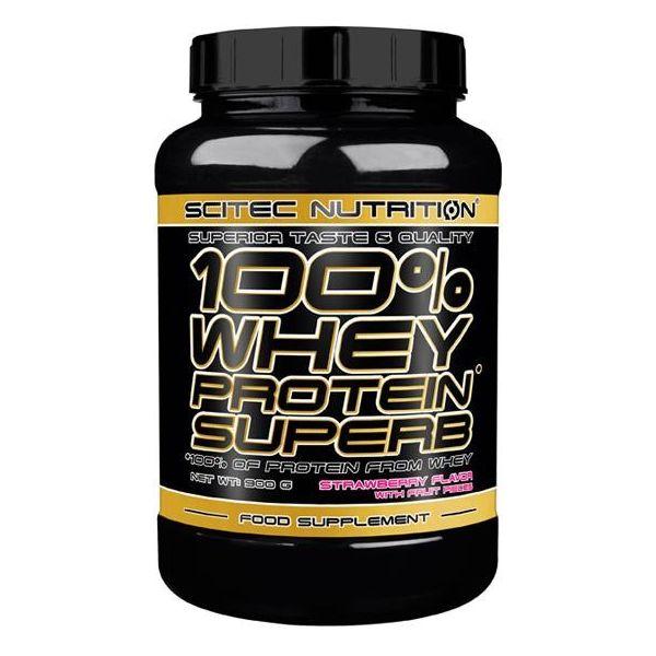 SCITEC 100% Whey Protein Superb 900g