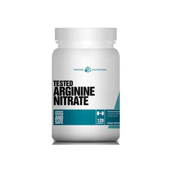 TESTED NUTRITION Arginine Nitrate 120 kap.