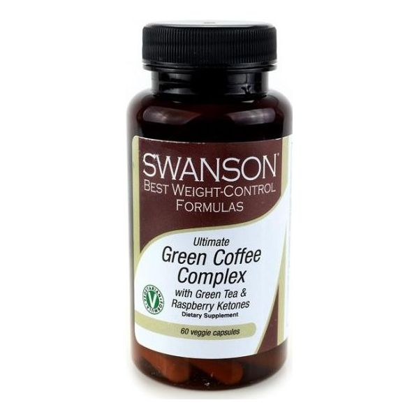 SWANSON Green Coffee Complex 60 kap.