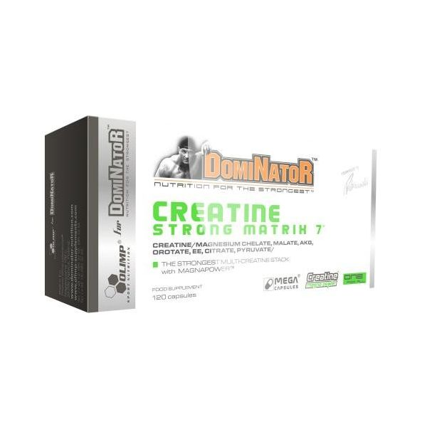 OLIMP Dominator Creatine Strong 7 Matrix 120 kap.