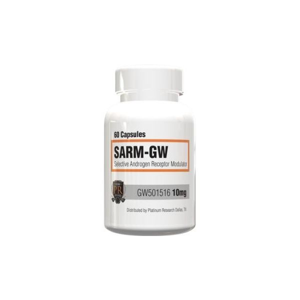 PLATINUM NUTRACEUTICALS PPAR-B GW 60 kap.