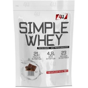 4U Nutrition Simple Whey 700g