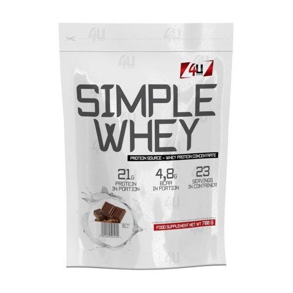 4U Nutrition Simple Whey 700g