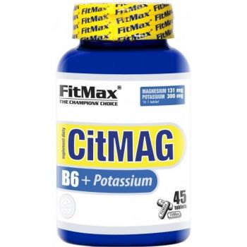 FITMAX CitMAG B6 + Potassium 45 tab.