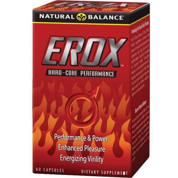 NATURAL BALANCE Erox 60 kap.
