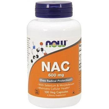 NOW FOODS NAC 100 kap. N-Acetyl Cysteina