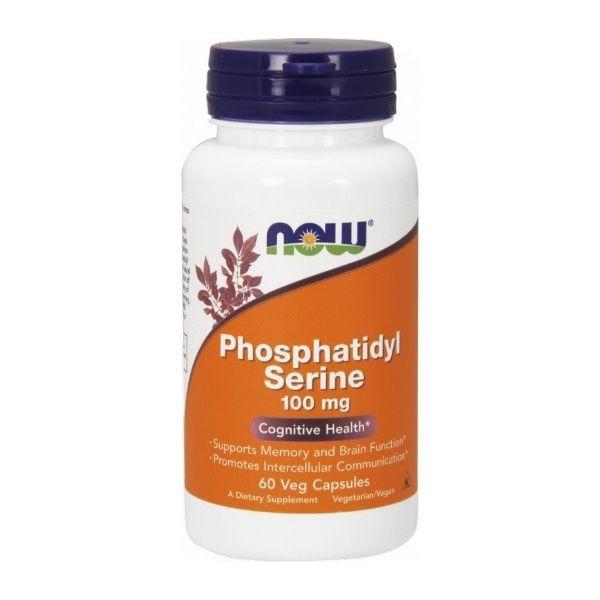 NOW FOODS Phosphatidyl Serine 60 kap.
