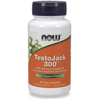 NOW FOODS Testojack 300 60 kap.