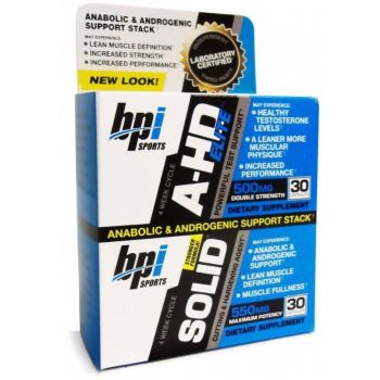 BPI A-HD Elite + Solid Combo 60 kap.