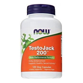 NOW FOODS TestoJack 200 120 kap.
