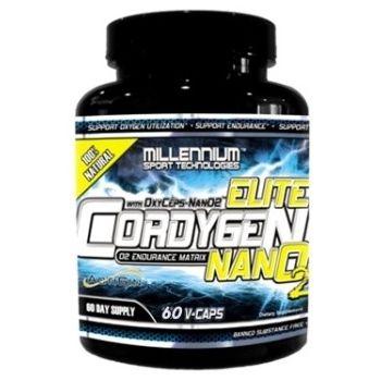 MILLENIUM SPORTS Cordygen Elite NanO2 60 kap.