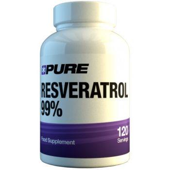 PURE Resveratrol 99% 120 kap.