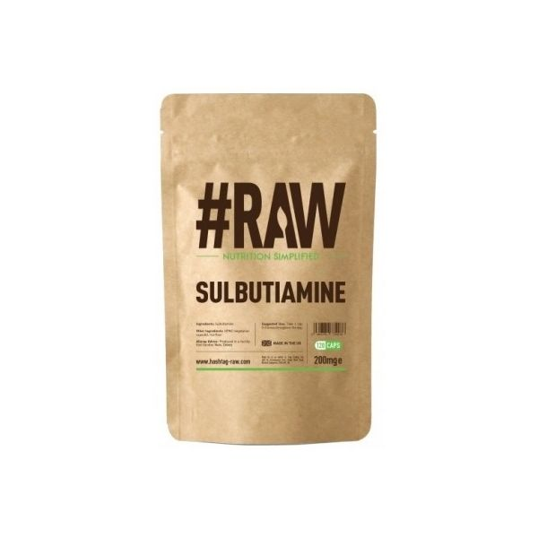 #RAW Sulbutiamine 120 kap.