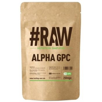 #RAW Alpha GPC 120 kap. Alfosceran Choliny