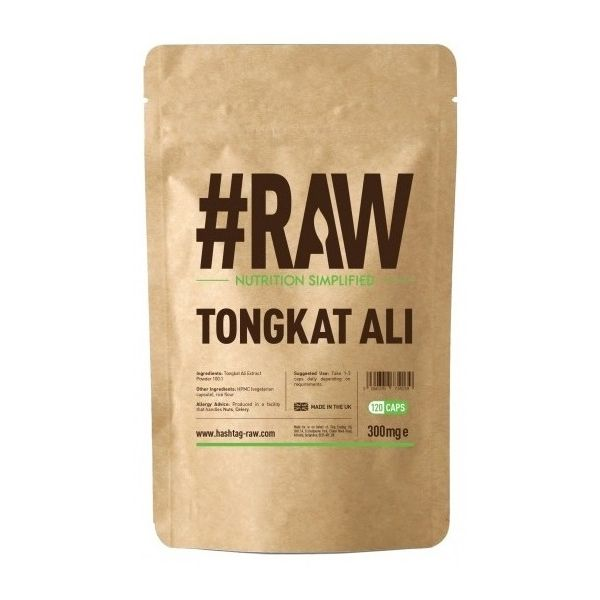 #RAW Tongkat Ali 120 kap. Ekstrakt 100:1