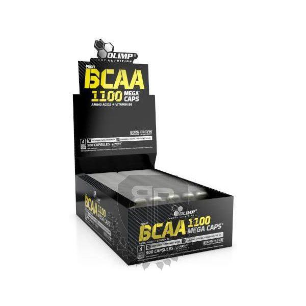 OLIMP BCAA Mega Caps 1100 30 kap. - Blistr