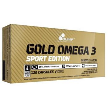 OLIMP Gold Omega-3 Sport Edition 120 kap.