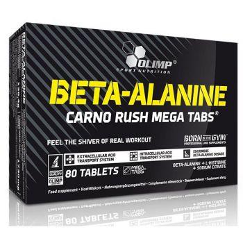 OLIMP Beta-Alanine Carno Rush 80 tab.