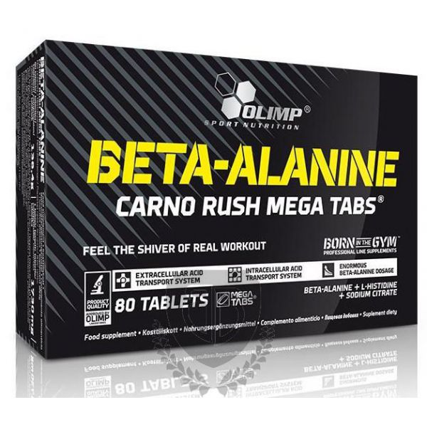 OLIMP Beta-Alanine Carno Rush 80 tab.