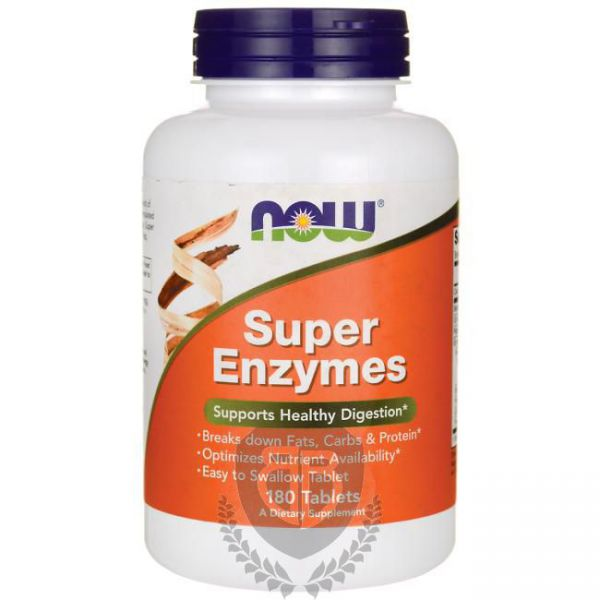 NOW FOODS Super Enzymes 180 tab.