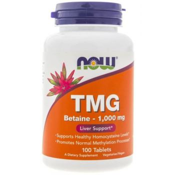 NOW FOODS TMG Betaine 100 tab. Trimetyloglicyna