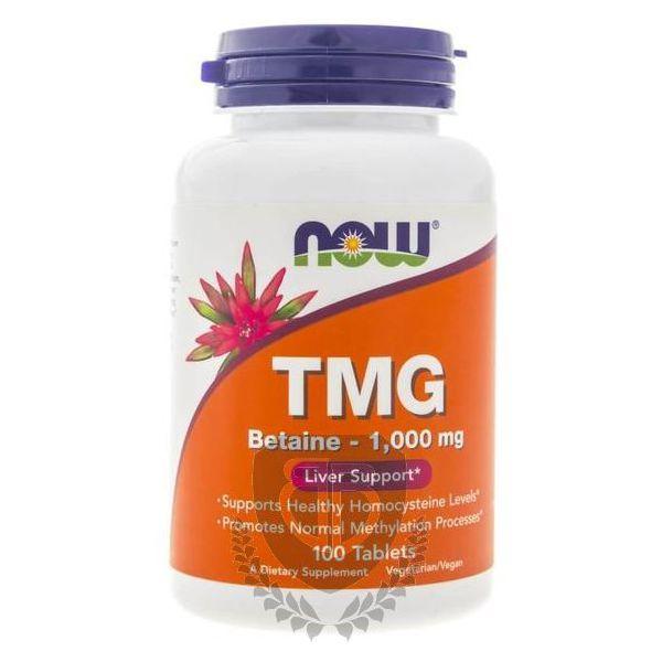 NOW FOODS TMG 100 tab. Trimetyloglicyna