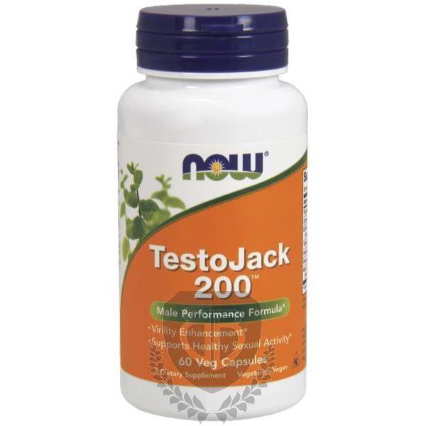 NOW FOODS TestoJack 200 60 kap. (Long Jack)