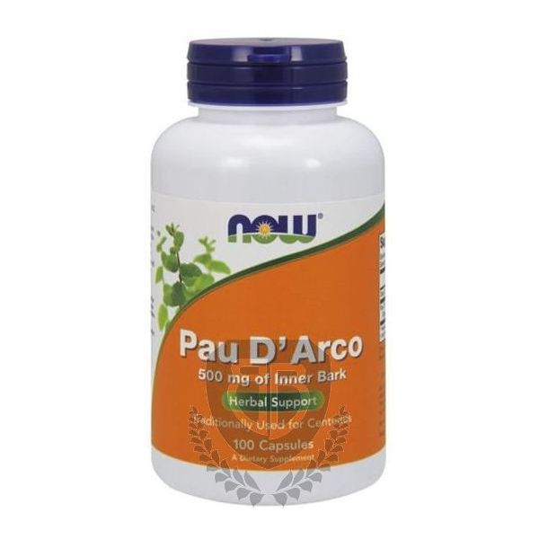 NOW FOODS Pau d'Arco 100 kap.