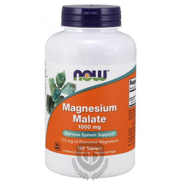 NOW FOODS Magnesium Malate 180 tab.