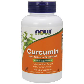 NOW FOODS Curcumin 60 kap.