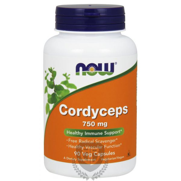 NOW FOODS Cordyceps 90 kap.