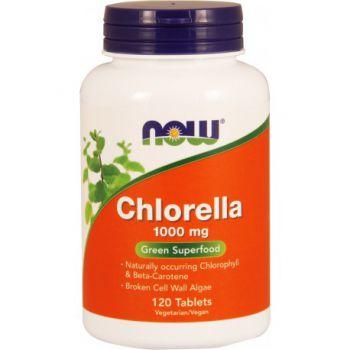 NOW FOODS Chlorella 120 kap.
