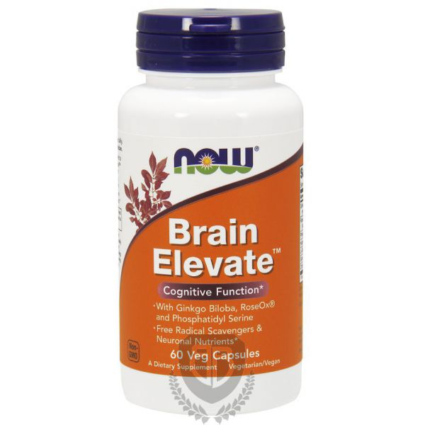 NOW FOODS Brain Elevate 60 kap.