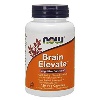 NOW FOODS Brain Elevate 120 kap.