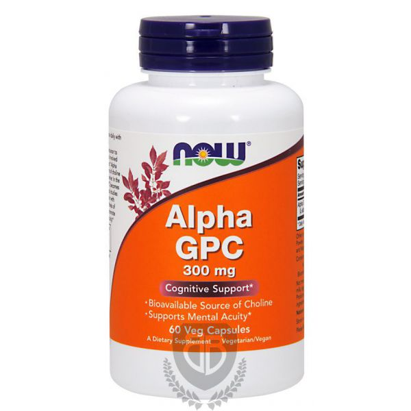 NOW FOODS Alpha GPC 60 kap.