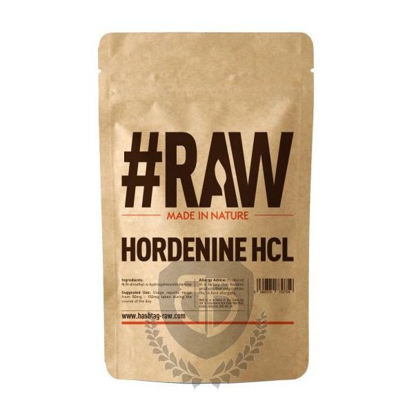 #RAW Hordenine HCL 25g